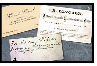 Historical Business Cards Image