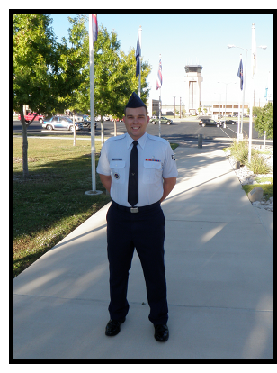 Anthony in his Dress Blues
