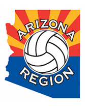 Arizona Region of USAVolleyball Logo